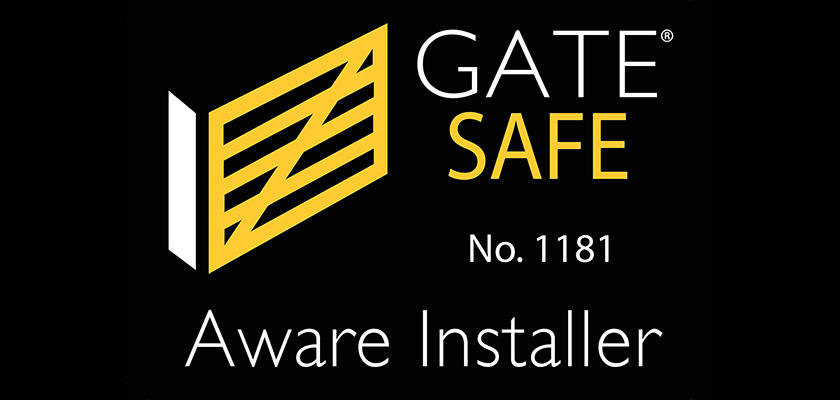 Gate Safe. No. 1181 Aware Installer